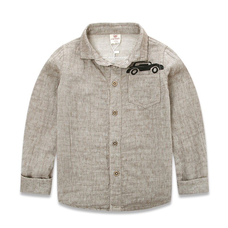 7ee029230 Get Quotations · 2-7 Years Brand Cotton Kids Boys Shirts Long Sleeves 2015  New Arrival Spring Autumn