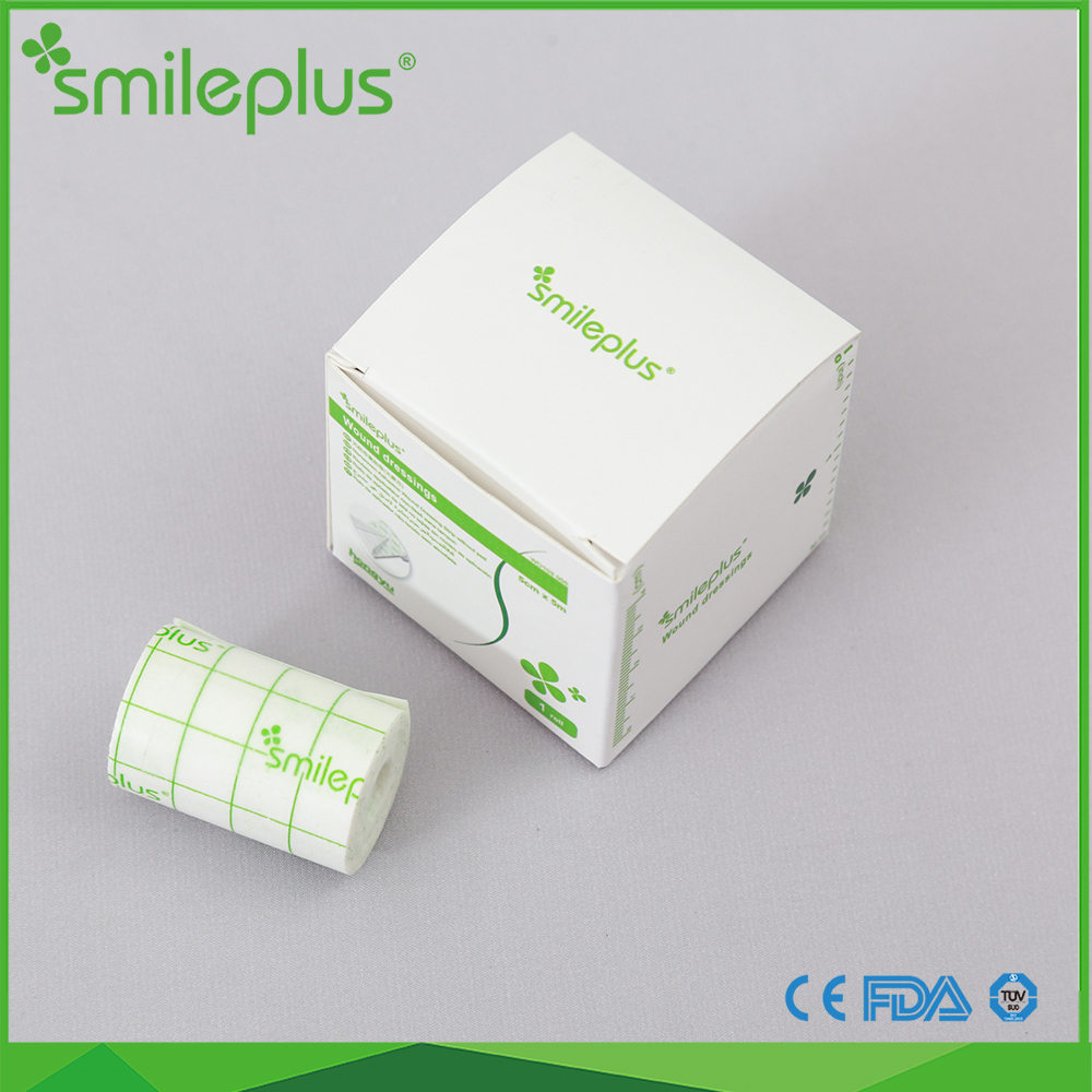 Different specifications Non woven adhesive wound dressing roll without pad