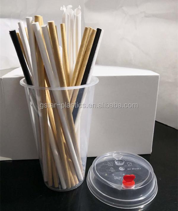 UCUZ FIYAT düz BEYAZ Kağıt Payet Sarılmış Bireysel 6 MM 8 MM 10 MM 5 MM BEYAZ Kağıt Payet İçme boba çayı Smoothie Suyu