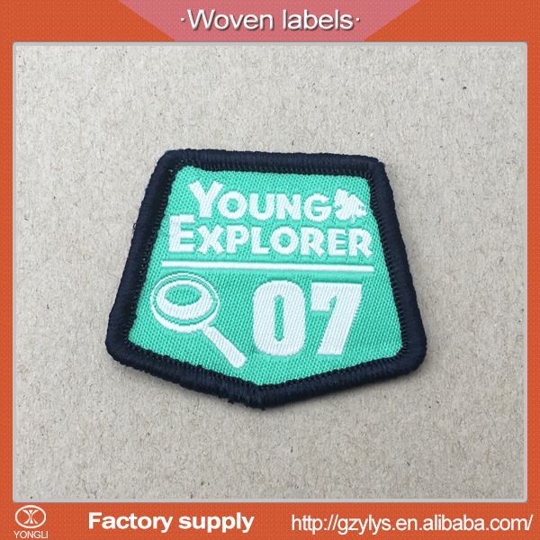 China factory accept woven labels no minimum order with Wholesale price
