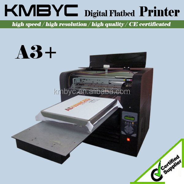 2015 Top Quality 6 Color A3 Size Digital T Shirt Printing