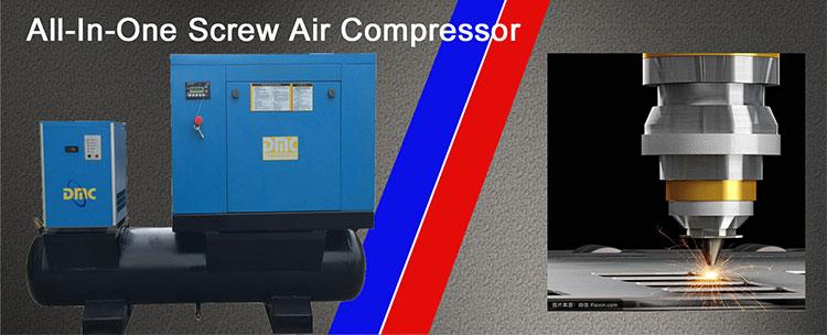 100CFM портативный винт воздушный компрессор с высоким давлением насос работы для электромобилей запчасти машины промышленности, Прямая продажа с фабрики п