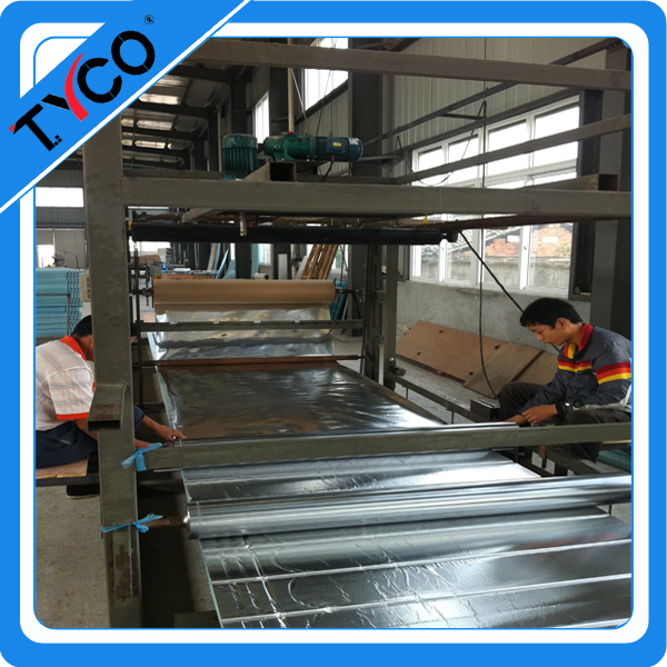 solar Water Floor Heating Systems groove foam panels