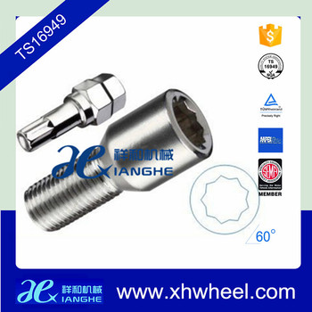 9 Points Color Wheel Bolts M14 For Vehicle With Key Buy Wheel
