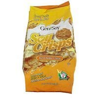 Genisoy Rich Cheddar Cheese Soy Crisp 3.85 Oz (Pack of 12)