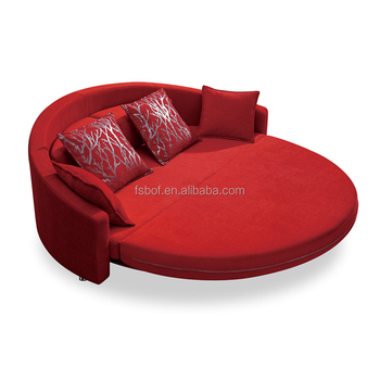 Awe Inspiring Simple Design Fabric Leather Round Sofa Bed With Red Color Ls820 Buy Sofa Bed Round Sofa Bed Fabric Bed Product On Alibaba Com Download Free Architecture Designs Momecebritishbridgeorg