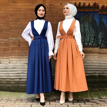 2019 new arrival muslim long skirt fashion maxi skirt for women