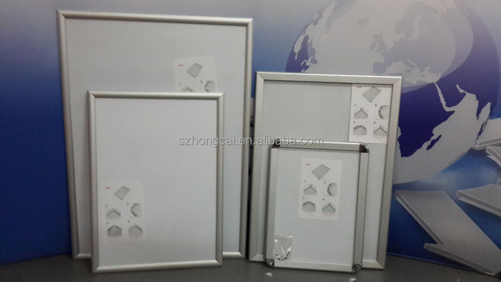 A1,A2,A3,A4 snap poster frame,photo aluminum material frame a4 size