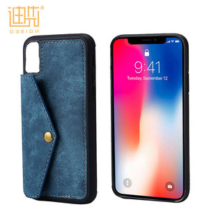 Mobile Accessories Leather Phone Case Cell Phone Accessory, Phone Accessories For iPhone X Case