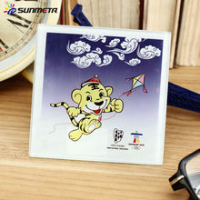 Sublimation Glass Photo Square Cup Mat At Low Price Wholsale Made in China BL-17a