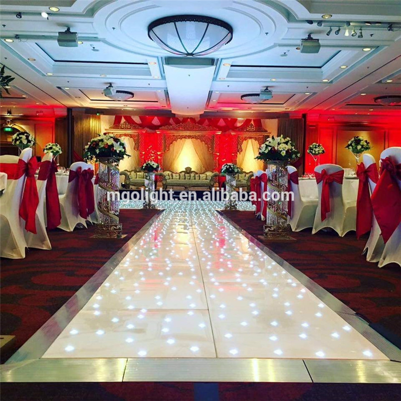 Wholesale Portable wedding led starlit dance floor