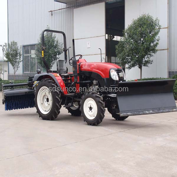 Hydraulic Pto Power Tractor 3 Point Hitch Snow Sweeper