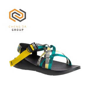 Good Quality Latest Design Webbing Sports Comfortable Rubber Men Sandals