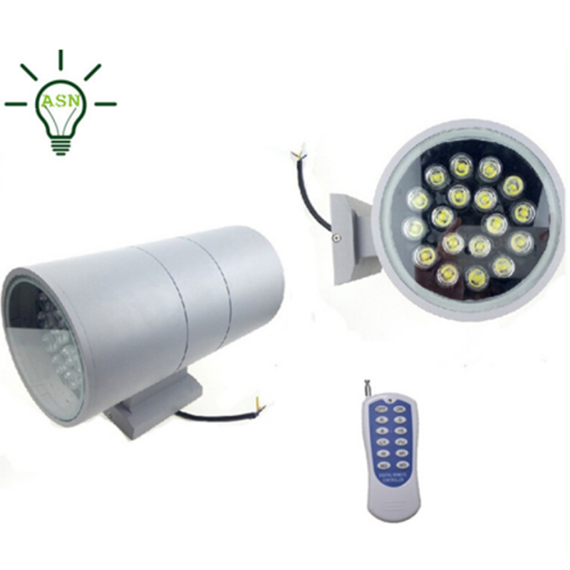 6W 12W 15W 18W 24W 36W rgb waterproof up and down led wall light