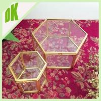 Christmas decoration 2015 Home Decor Lantern Tea Light Holder // Hand Made glass christmas gift boxes with lids