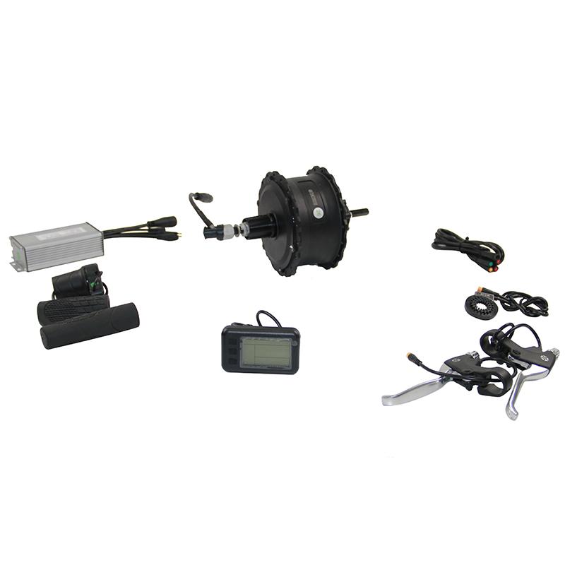 roue arrière 26 pouces kit de conversion vélo électrique ebike 1000w 48v