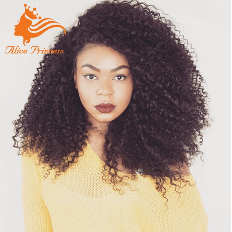 Kinky Curly Lace Wig For Black Women Bohemian Curly Wig