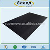 Non skid body building apparatus floor protective pad floor fitness mat
