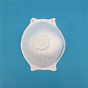 Disposable ffp2 ffp3 ffp4 dust mask with valve