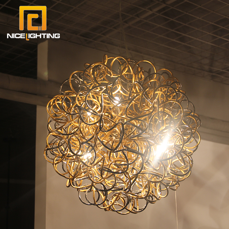 cheaper bfc60 b4f68 NICE lighting G9 fireworks Pendant Ceiling light metal aluminium gold  chandelier, View gold chandelier, NICE Product Details from Zhongshan Nice  ...