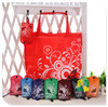 Custom shopping bags wholesale reusable shopping bags foldable nylon