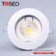 good price round 35W/50W/3W/5W/6W 12v die cast aluminum downlight cob led recessed down light