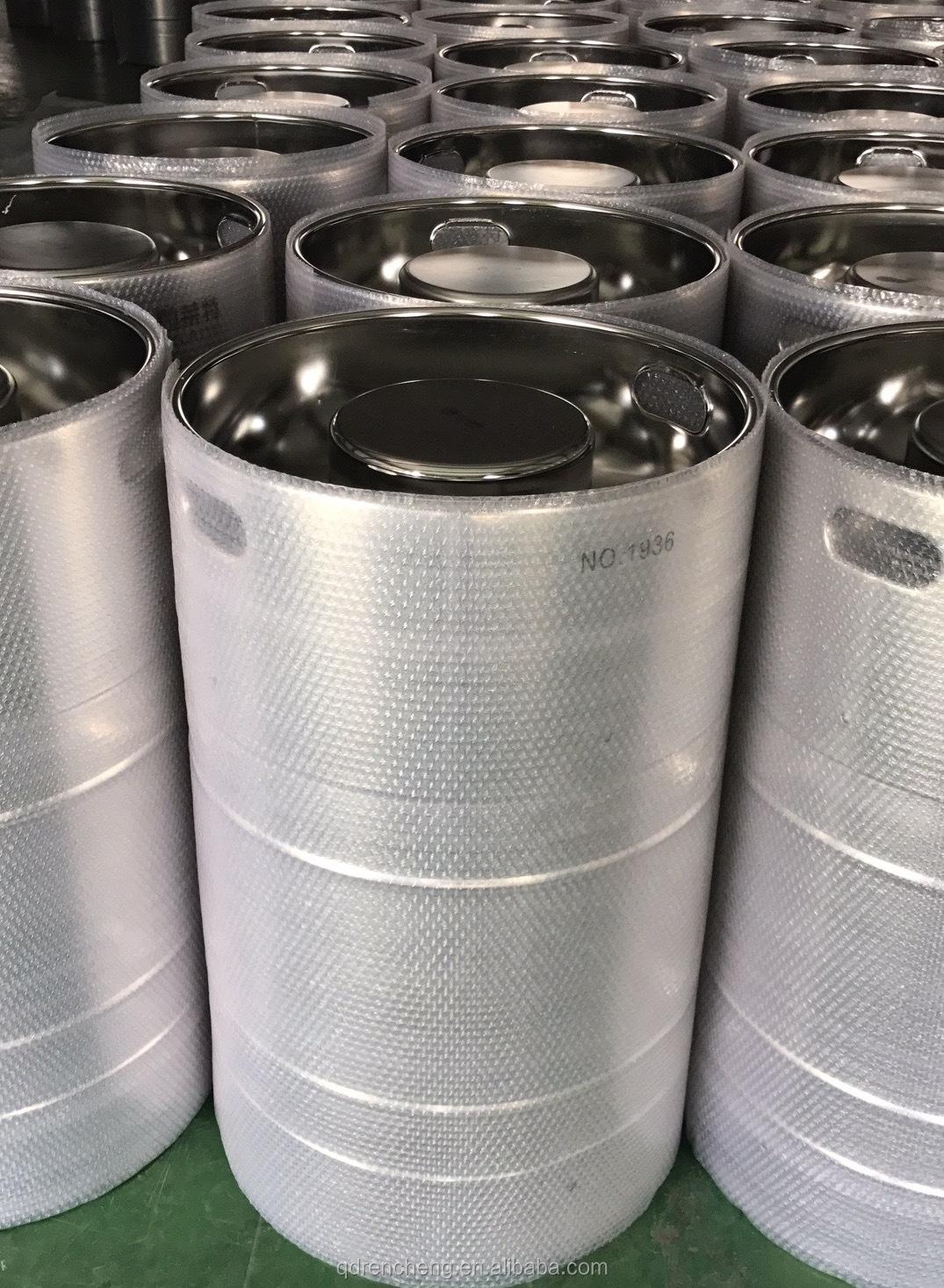 5 gal 20 litri batteria agli ioni di litio elettrolita tamburi tamburo di acciaio di piccole dimensioni