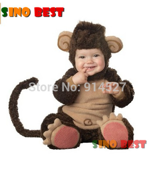 Cute Baby Monkey Costumes for Infant Boys Girls High Quality Christmas Halloween Party Cosplay Clothes Clothing  sc 1 st  Alibaba & Cheap Infant Halloween Costumes find Infant Halloween Costumes ...