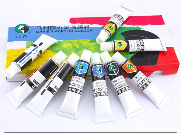 50/170ml Maries artist oil paint color,many color for you choose.