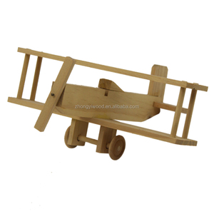 China Supplier Wooden Plane Craft Kit