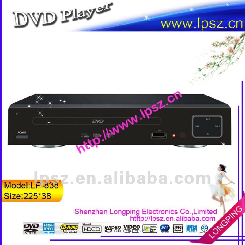 Small Size Dvd Player Lp-838