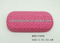 promotional case for glasses,clear plastic display case 2014 pvc display glasses case