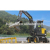 durable mini hydraulic rock breaker excavator for tunnels