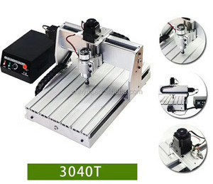 CNC desktop AD carpenters three-dimensional four - axis processing acrylic wood engraving3020/4060model