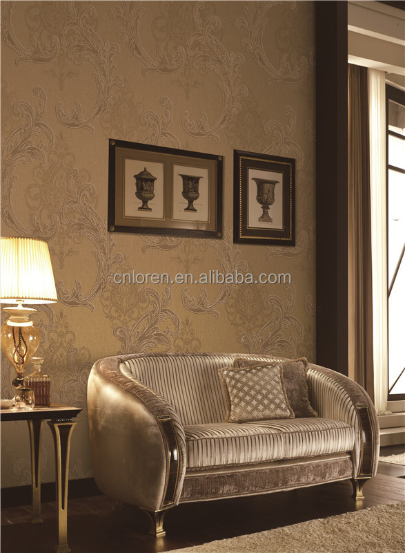 Loren wall fashion wallpaper for home and bedroom confirmed with CE (cl-11253 )