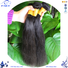 FMT Full Cuticle Pu Skin 1b Color Silky Straight Hair Extension, 9A Virgin Indian Human Hair Cheap