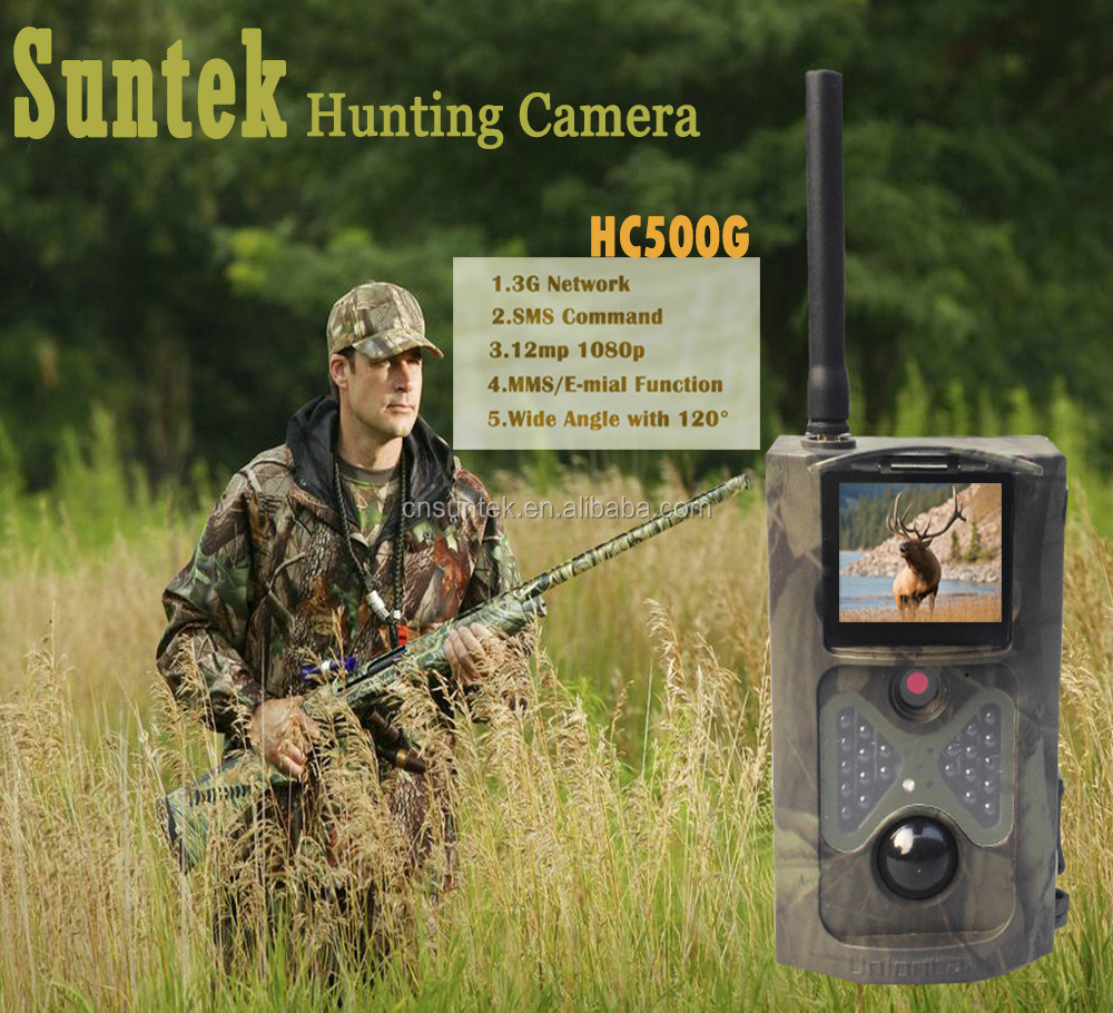 Wholesale MMS/Email SMS Control 3g Network Scouting Cameras