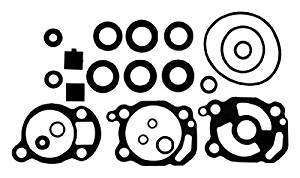Sierra International 18-2627 Marine Lower Unit Seal Kit for Mercury/Mariner Outboard Motor