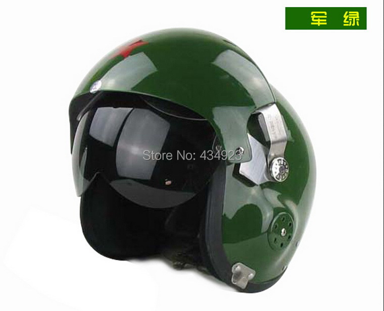 Fighter Pilot Motorcycle Helmet Chinese Fighter...