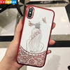 Factory bulk buy hgih quality phone case for iphone x diamond tpu pc caes for iphone 8 custom logo case