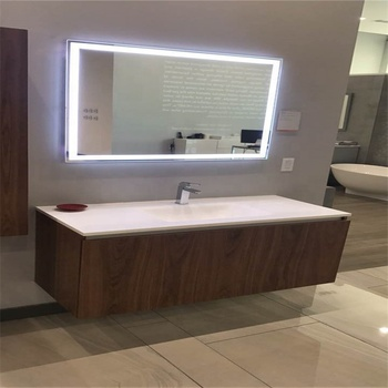 Full Length Bathroom Led Vanity Smart Mirror With Anti-fog Pad - Buy Led  Mirror,Led Bathroom Mirror,Vanity Mirror With Lights Product on Alibaba com