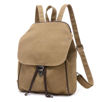 2872b210e925 Dreamtop DTB309 Korea style travel backpack student girls drawstring canvas  school backpack