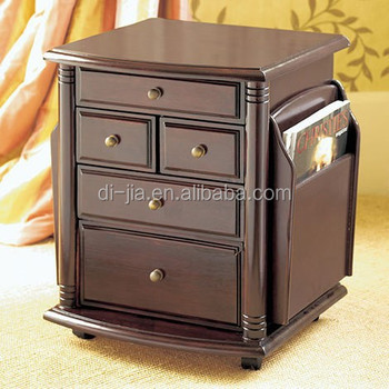 side cabinets for living room. wooden movable magazine side table antique cabinet Wooden Movable Magazine Side Table Antique Cabinet  Buy Wood