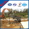 Movable 50t/h diamond/Gold Extraction Machine In Mozambique