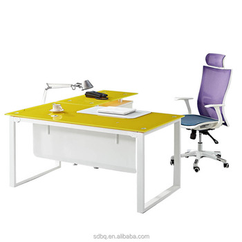 glass top office table. ptd0517 2016 latest director modern glass top office table design i