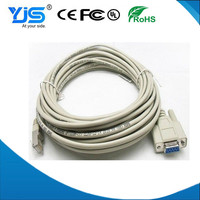 Customized DB9 to RJ45 Console Cable Manufacturer&Supplier&Exporter