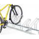 Single or double-sided display stand for bicycle tyre/bike display rack for promotion/storage/outdoor park