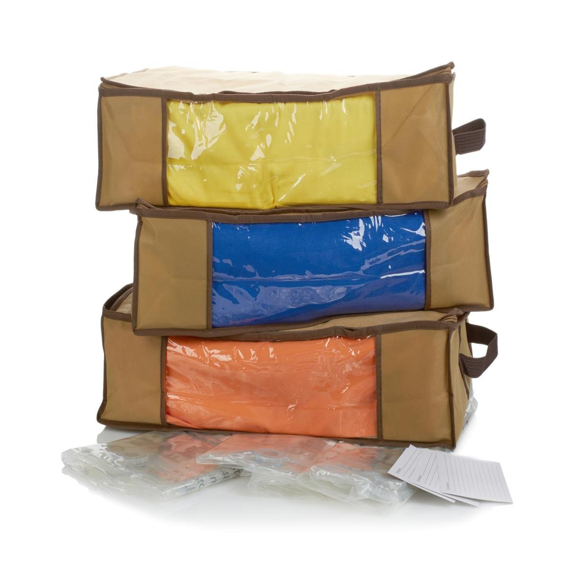 Get Quotations · StoreSmart 3pc Compression Storage Bags and 3pc Jumbo Totes Set - Taupe  sc 1 st  Alibaba & Cheap Small Storage Totes find Small Storage Totes deals on line at ...
