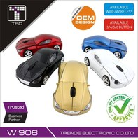 Personalised 3D Optical Mouse Ferrari Car Shape Wireless Mouse W906