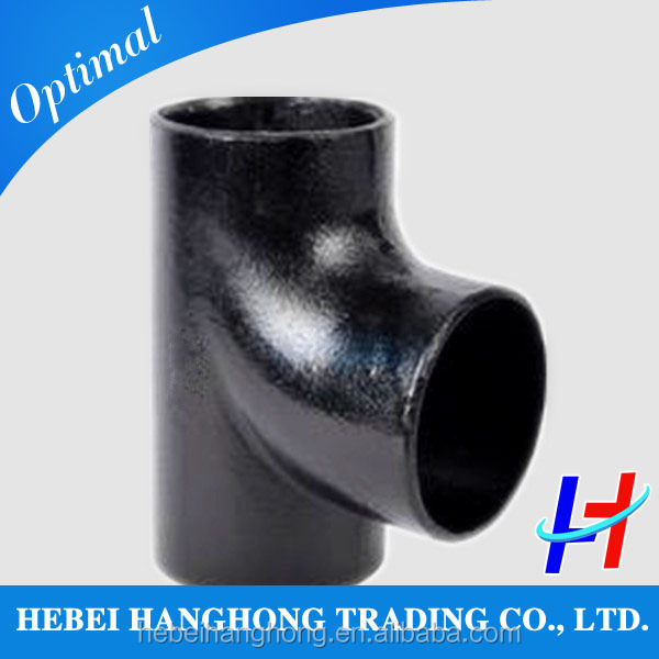 2014 hot sale carbon steel reducer tee/equal tee ---HH manufacturing company